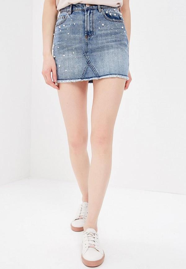 Фото Юбка джинсовая Morgan. Купить с доставкой