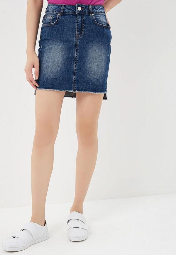 Юбка джинсовая Motivi Motivi MO042EWBEEL4 юбка motivi motivi mo042ewxmd70