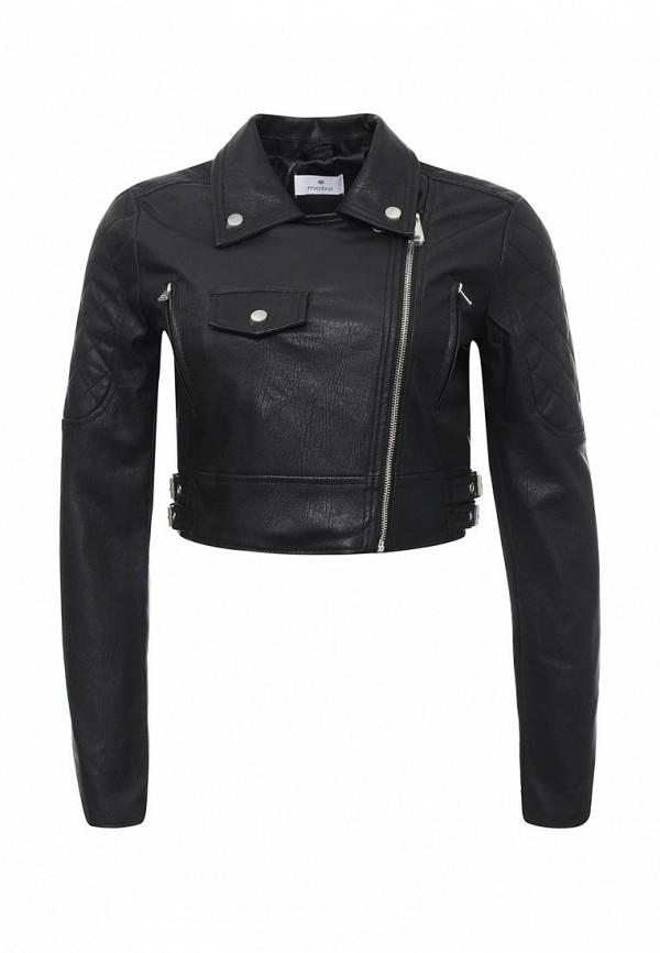 цена Куртка кожаная Motivi Motivi MO042EWRCH03
