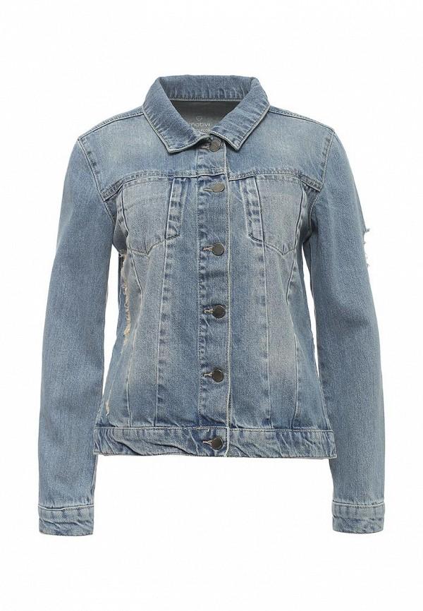 Куртка джинсовая Motivi Motivi MO042EWRZN32 джинсовые бермуды quelle arizona 246735