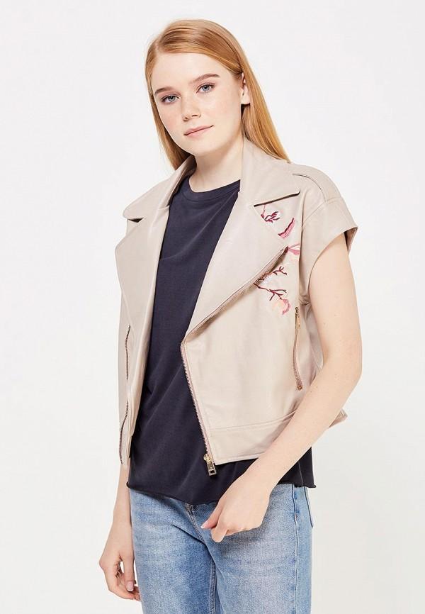 Куртка кожаная Motivi Motivi MO042EWWRX15 куртка кожаная motivi motivi mo042ewstp24