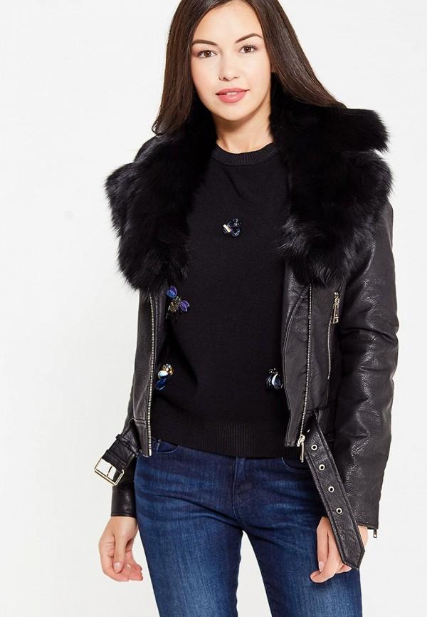 Фото Куртка кожаная Motivi. Купить с доставкой