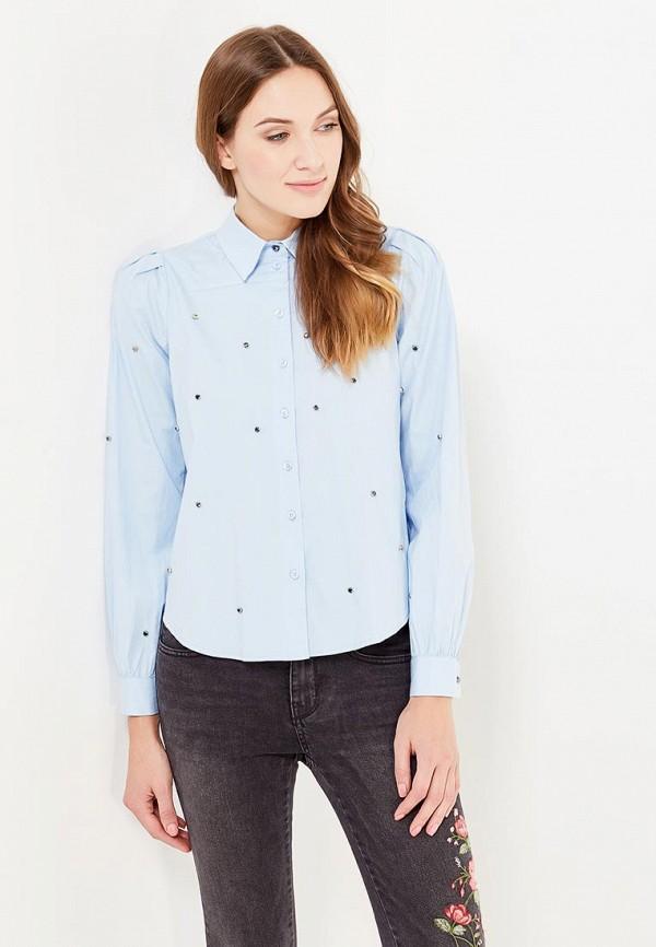 Блузки Голубого Цвета