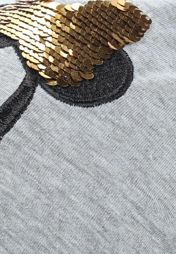 Фото 4 - Шапку Modis серого цвета