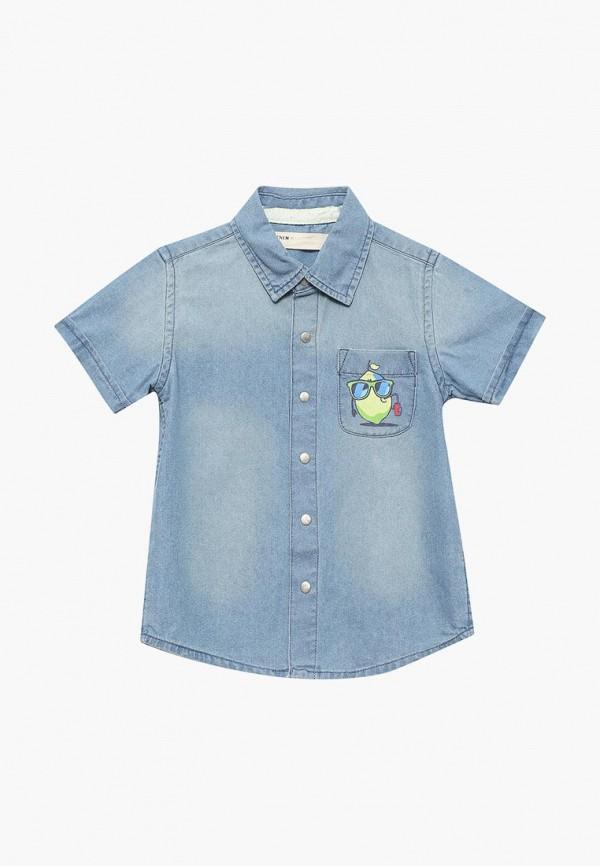 Рубашка джинсовая Modis, MO044EBBEAZ3, голубой, Весна-лето 2018  - купить со скидкой