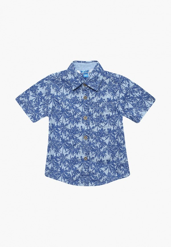 Купить Рубашка Modis, MO044EBBLMD0, синий, Весна-лето 2018