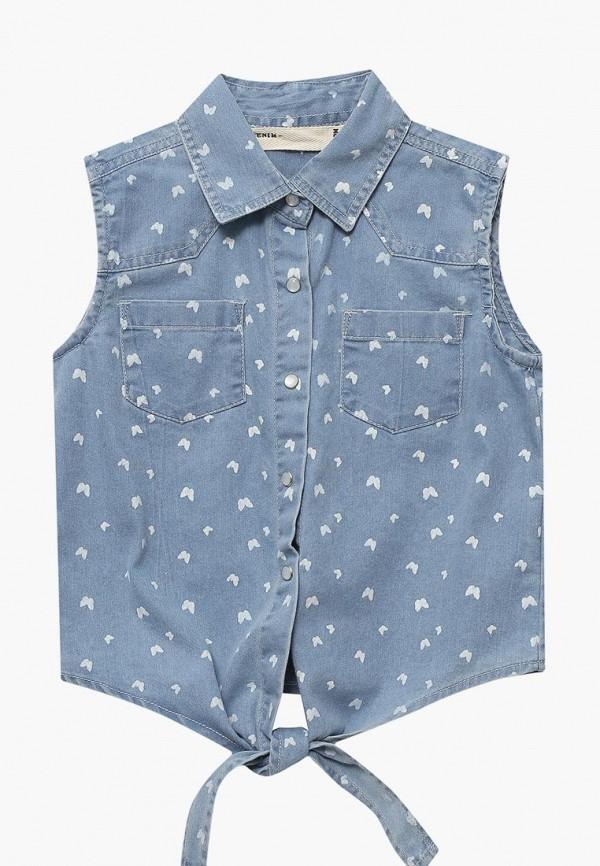 Купить Рубашка джинсовая Modis, MO044EGBDRI1, синий, Весна-лето 2018