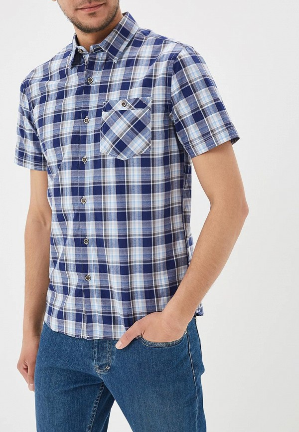 Купить Рубашка Modis, MO044EMBMZF0, синий, Весна-лето 2018