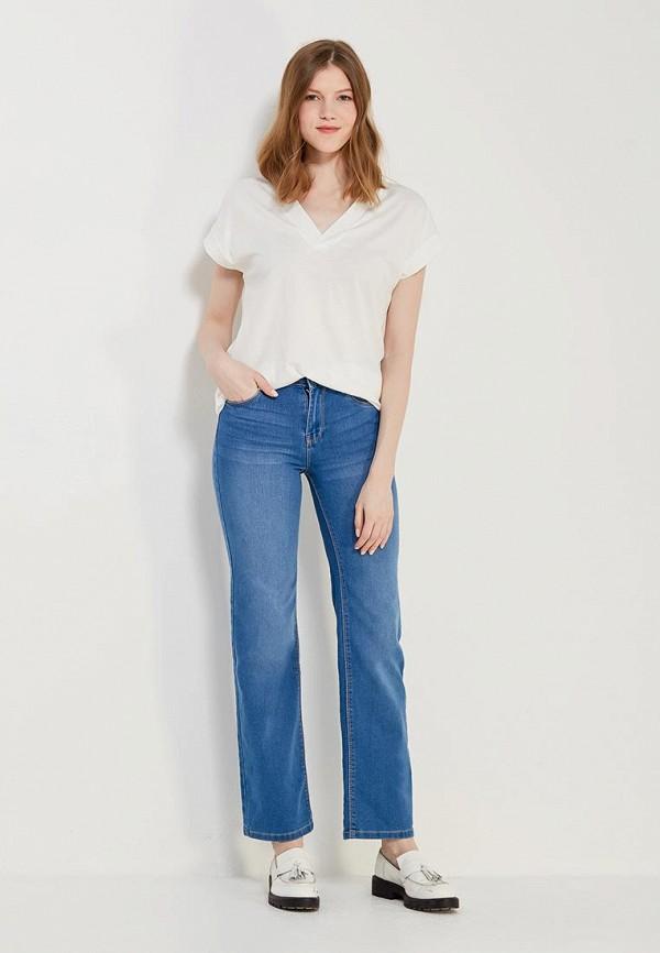 Фото 2 - женские джинсы Modis синего цвета