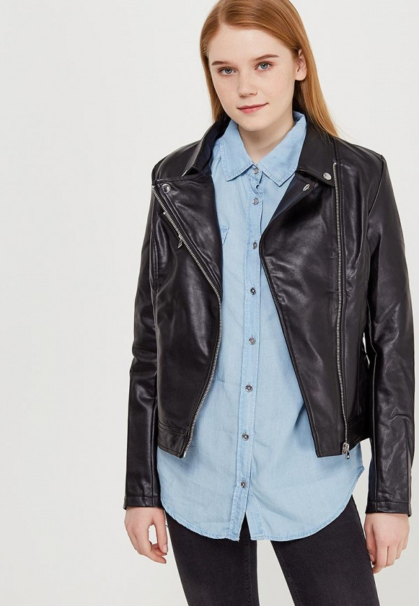 Куртка кожаная Modis Modis MO044EWAPVR9 куртка кожаная modis modis mo044egvrw74