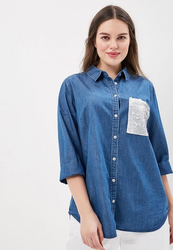 Рубашка джинсовая Modis Modis MO044EWAVFD7 рубашка modis modis mo044ewagqg5