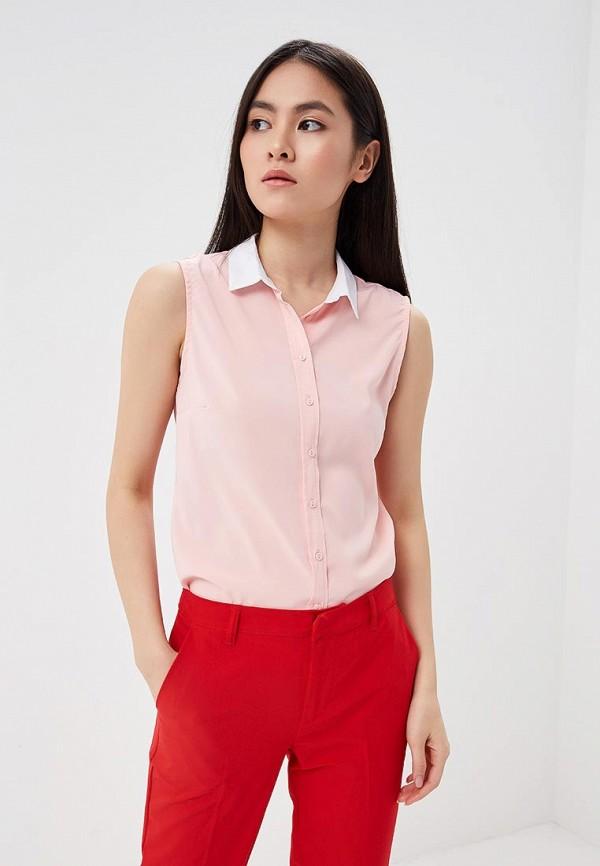 Блуза Modis Modis MO044EWBATK6 fashionable short sleeve self tie back t shirt for women