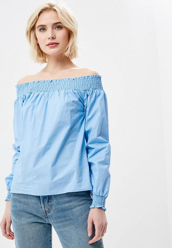 Купить Блуза Modis, MO044EWBKIJ0, голубой, Весна-лето 2018