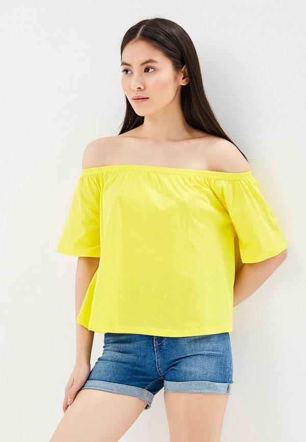 Купить Блуза Modis, MO044EWBKIJ6, желтый, Весна-лето 2018