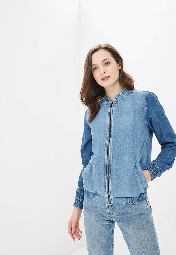 Купить Куртка джинсовая Modis, MO044EWBQFJ1, синий, Весна-лето 2018