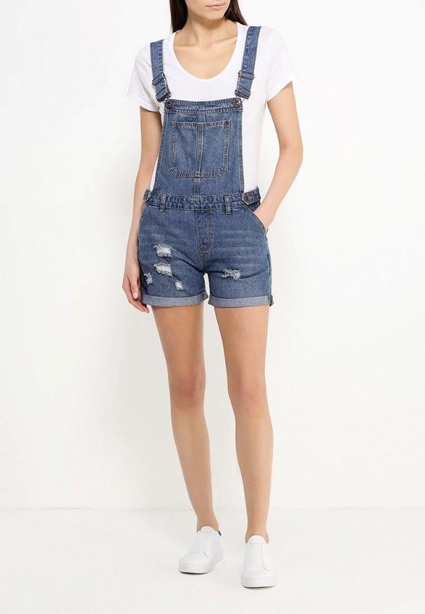 Комбинезоны женские джинсовые 2017
