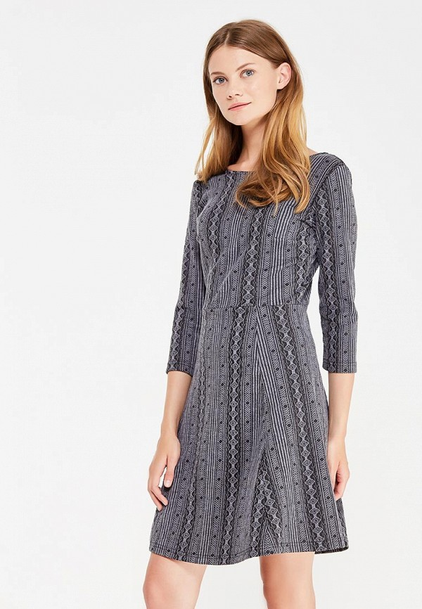 Купить Платье Modis, MO044EWWHC92, серый, Осень-зима 2017/2018