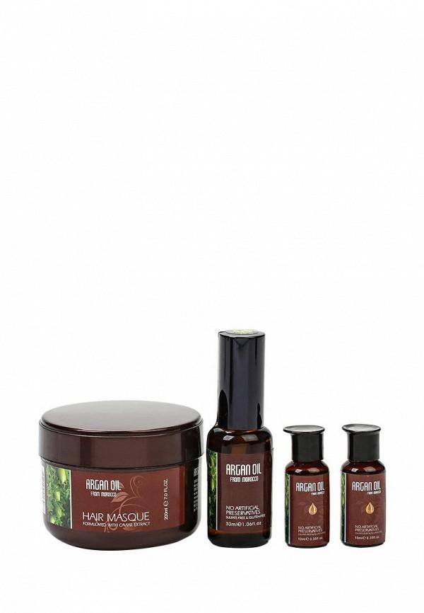 Дополнительный уход Morocco Argan Oil для волос Caviar 200 мл, масло арганы 10 мл х 2, 30 мл