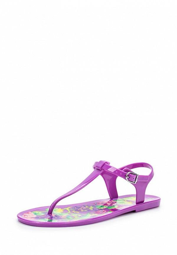 Женские фиолетовые сандалии Mon Ami
