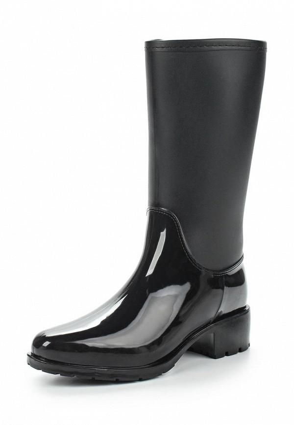 Резиновые сапоги Mon Ami цвет черный сезон демисезон, зима страна Россия размер 36, 37, 38, 39