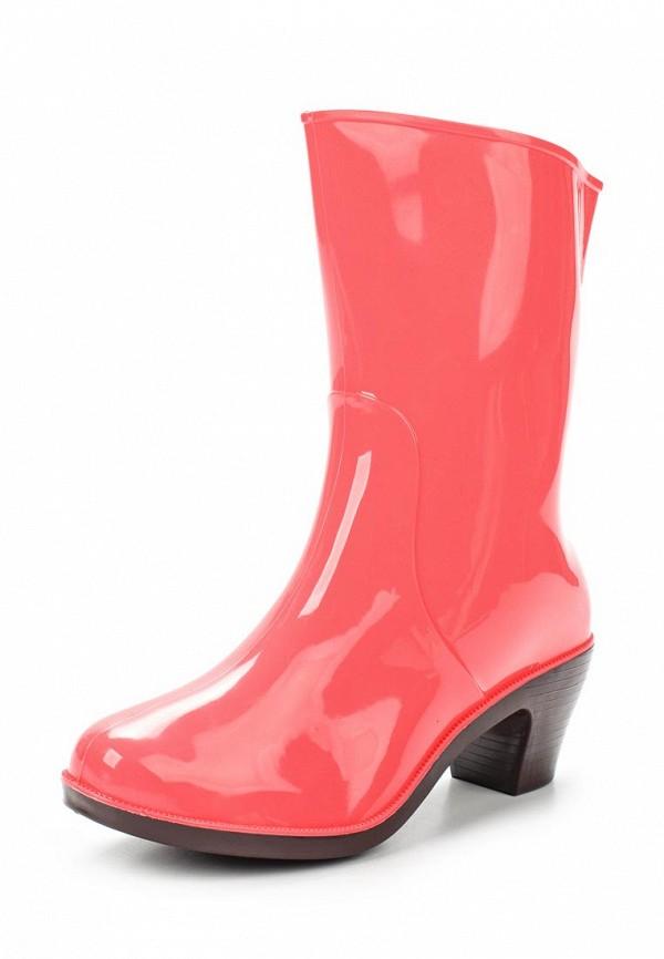 Резиновые полусапоги Mon Ami цвет розовый сезон демисезон, зима страна Россия размер 36, 37, 38, 39, 40