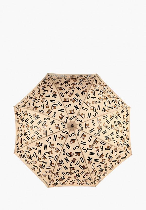 Зонт-трость Moschino Moschino MO351DWYRO34 printio зонт трость двусторонний с деревянной ручкой
