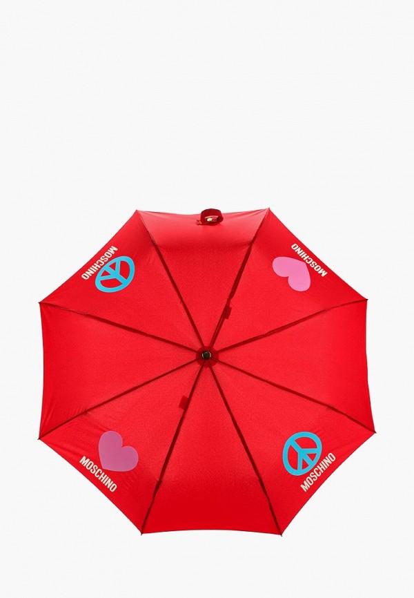 Зонт складной Moschino Moschino MO351DWYRO36 зонт трость moschino moschino mo351dwgqg89