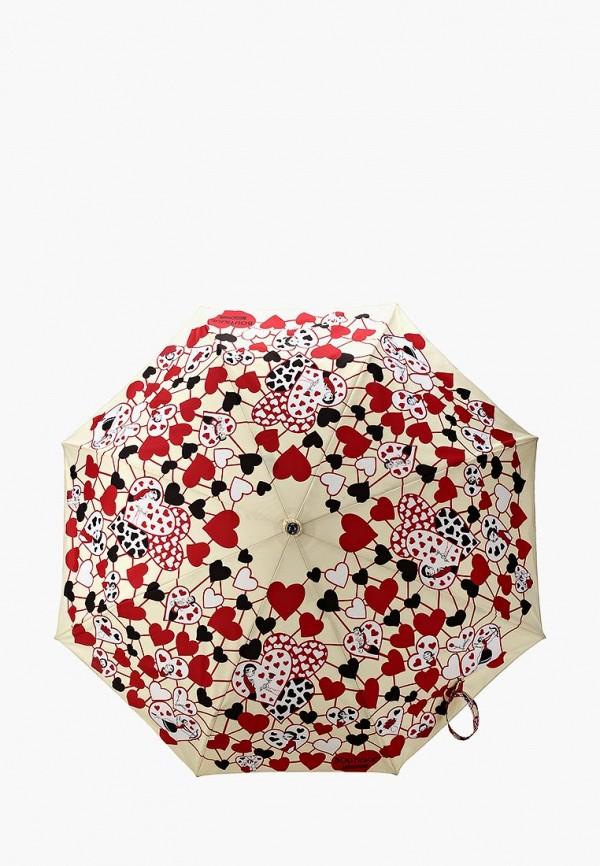 Зонт складной Moschino Moschino MO351DWYRO39 зонт трость moschino moschino mo351dwgqg89