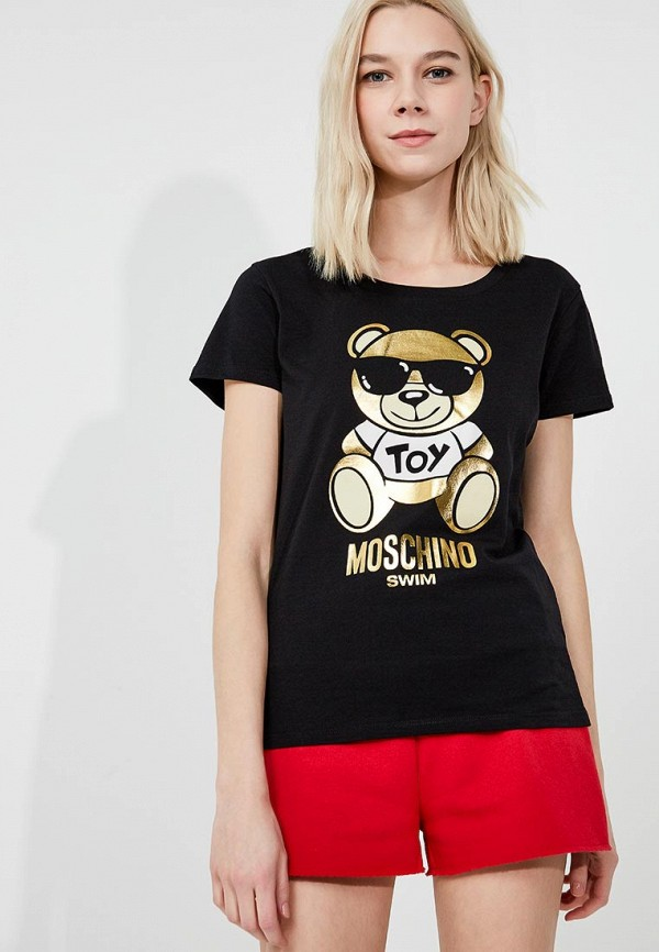 Футболка Moschino Moschino MO351EWUSU67 moschino light clouds edt 50мл moschino moschino light clouds edt 50мл