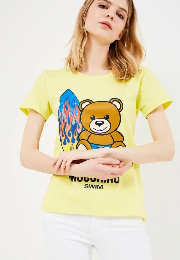 Футболка Moschino Moschino MO351EWZUX90 футболка moschino moschino mo057ewiwk27