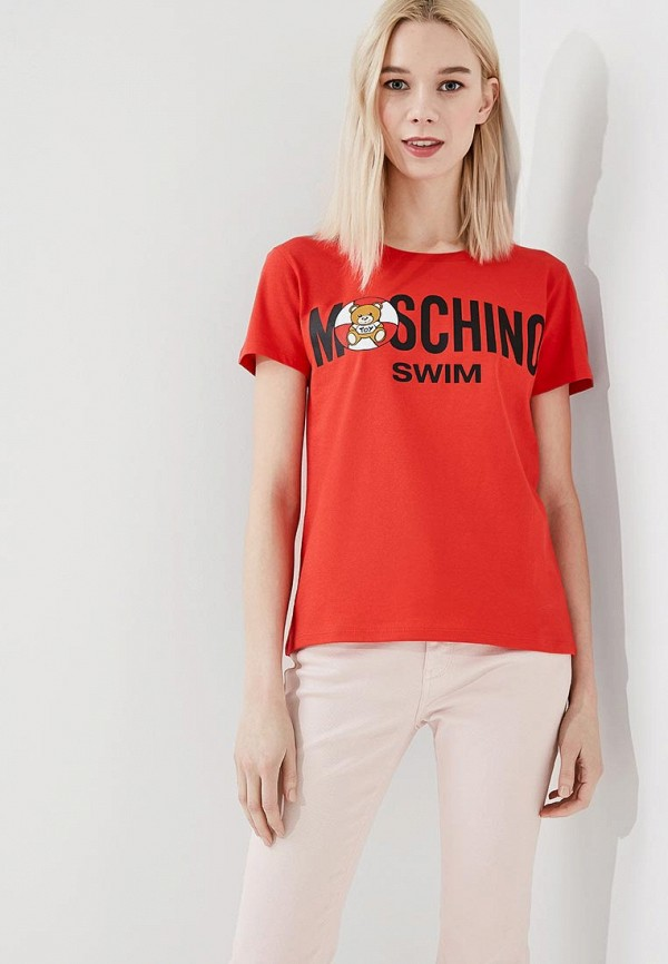 Футболка Moschino Moschino MO351EWZUX93 футболка moschino moschino mo057ewiwk27