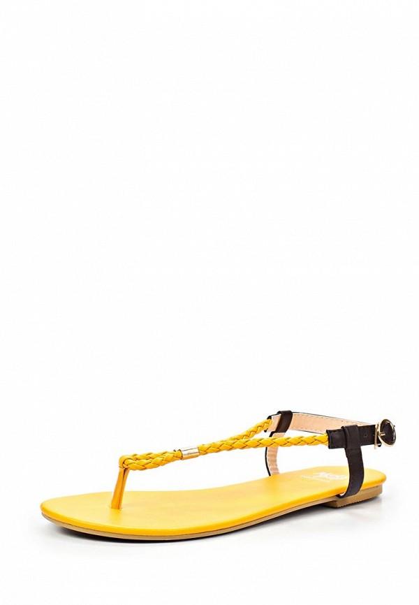 Сандалии Mol&Pop MP001AWAAD28. Цвет: желтый