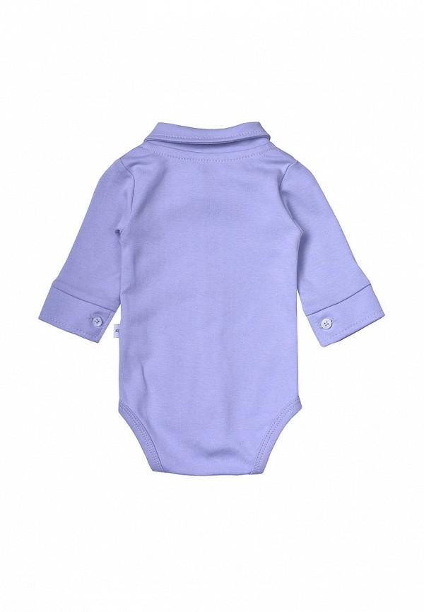Фото 2 - Боди Фламинго текстиль фиолетового цвета