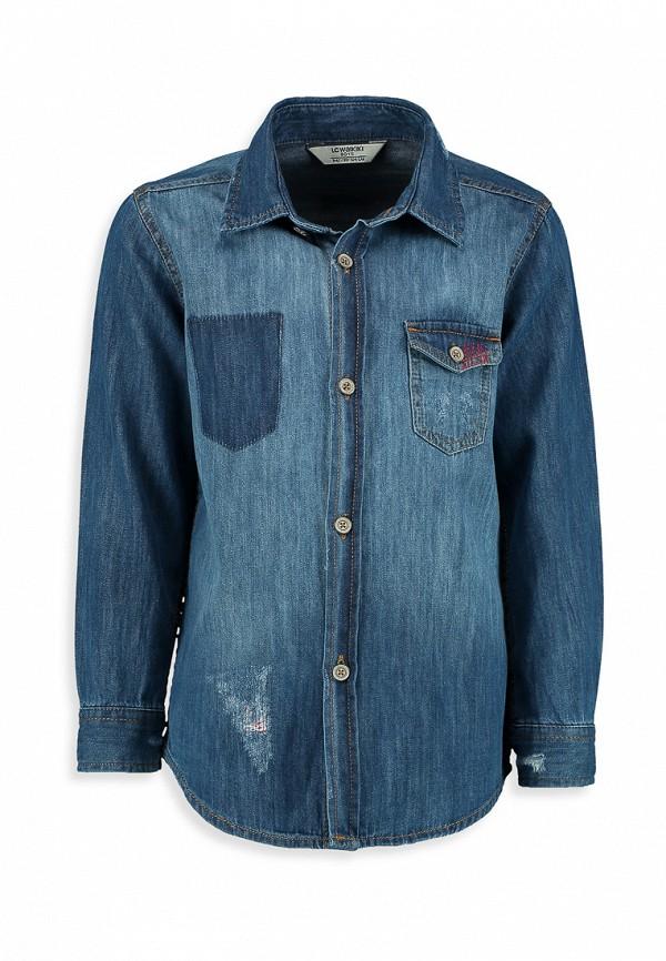 Рубашка джинсовая LC Waikiki LC Waikiki MP002XB0052P джемпер lc waikiki lc waikiki mp002xb004ty