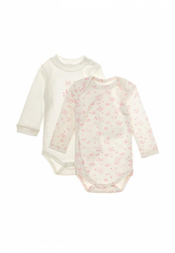 Комплект боди 2 шт. Фламинго текстиль