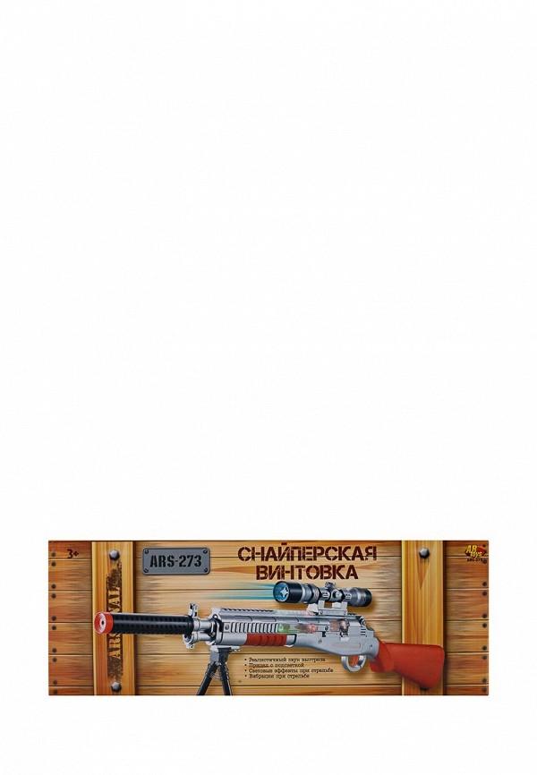 Снайперская винтовка с прицелом и подставкой, эл/м