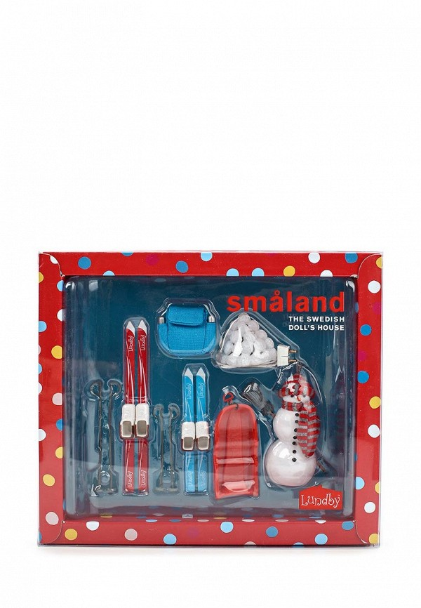Набор игровой Lundby Lundby MP002XG005CK дом для кукол lundby стокгольм с освещением с бассейном
