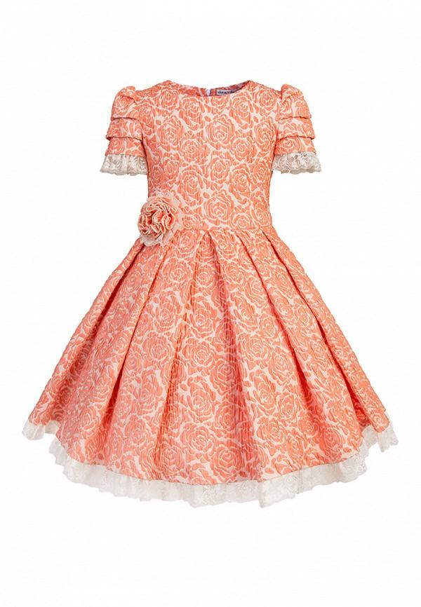 Купить Платье Alisia Fiori, Флоретта Peach, MP002XG009DQ, коралловый, Весна-лето 2018