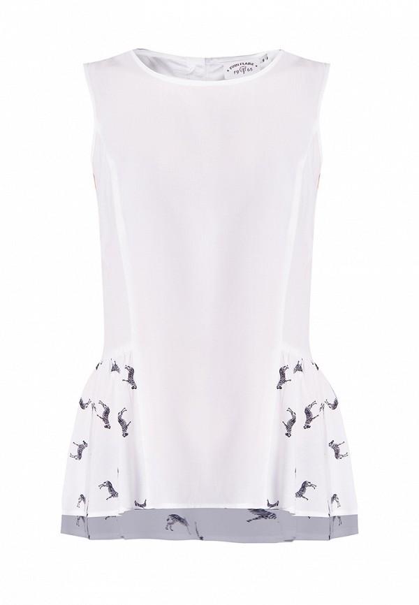 Купить Блуза Finn Flare, MP002XG009M7, белый, Весна-лето 2018