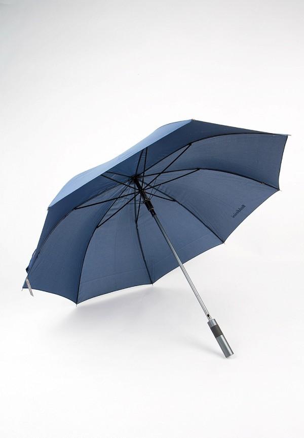 Фото 2 - Зонт-трость Baldinini синего цвета