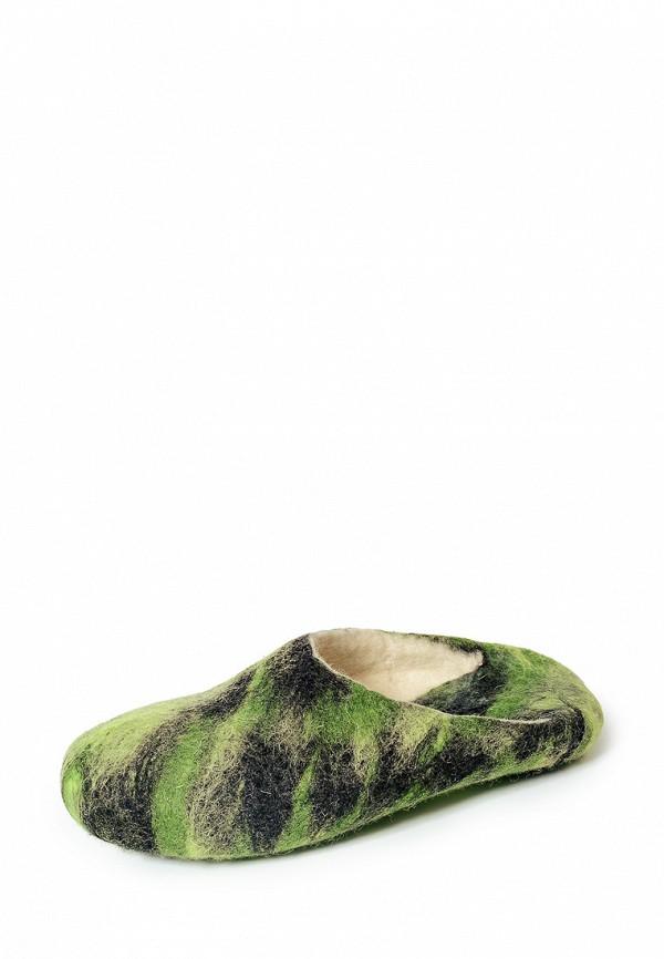 Тапочки Gewenst цвет зелёный сезон весна, лето, мульти страна Россия размер 41, 42, 43, 44, 45
