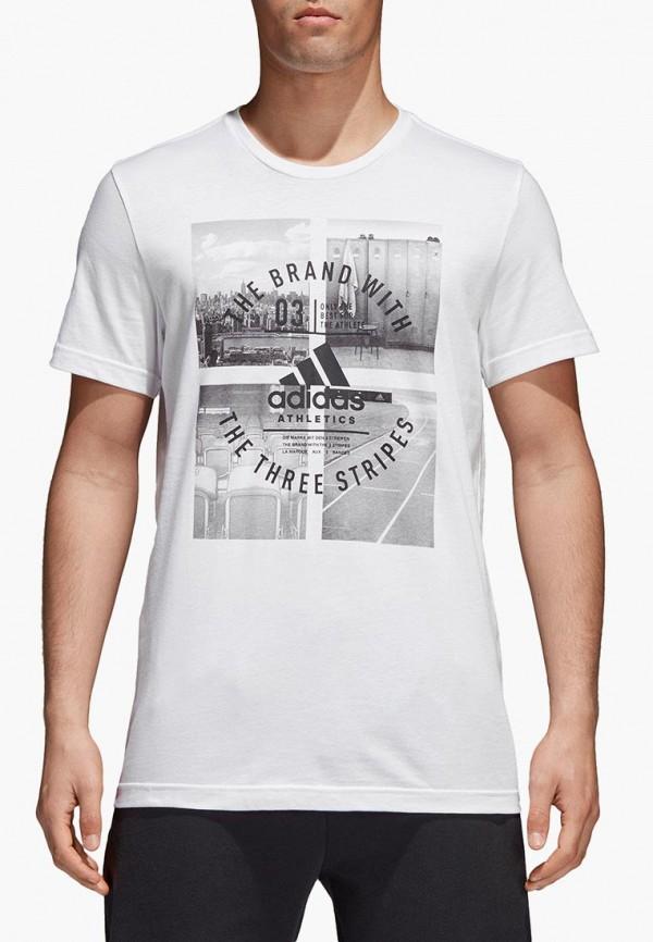 Футболка спортивная adidas adidas MP002XM0YHVJ adidas футболка