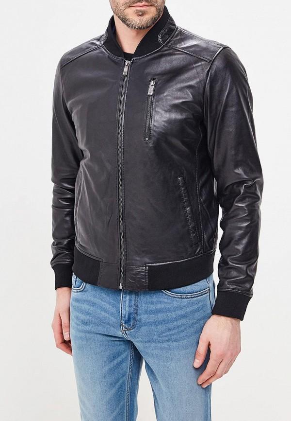 Куртка кожаная Jorg Weber Jorg Weber MP002XM0YI71 рубашка gerry weber gerry weber ge002ewwra96