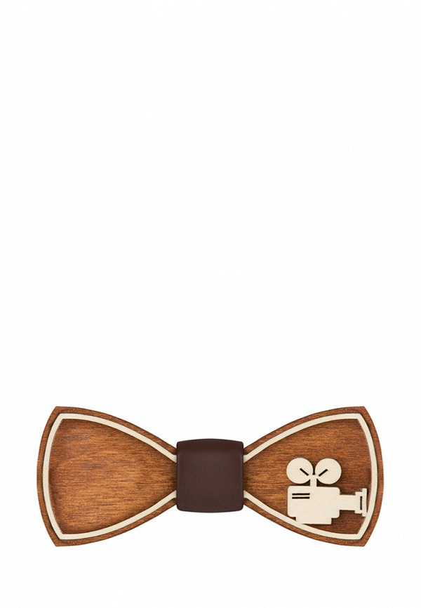 Бабочка  коричневый цвета