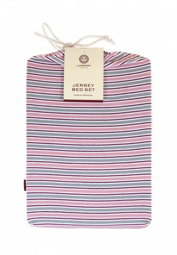 Фото Комплект постельного белья Евро Luxberry. Купить с доставкой