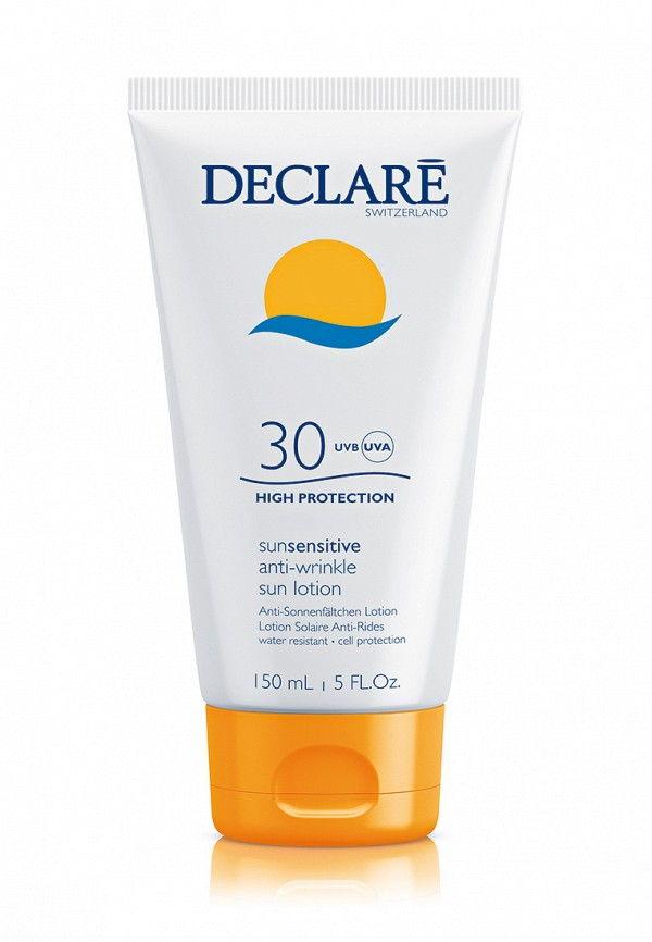 Солнцезащитный лосьон SPF 30 с омолаживающим действием Declare