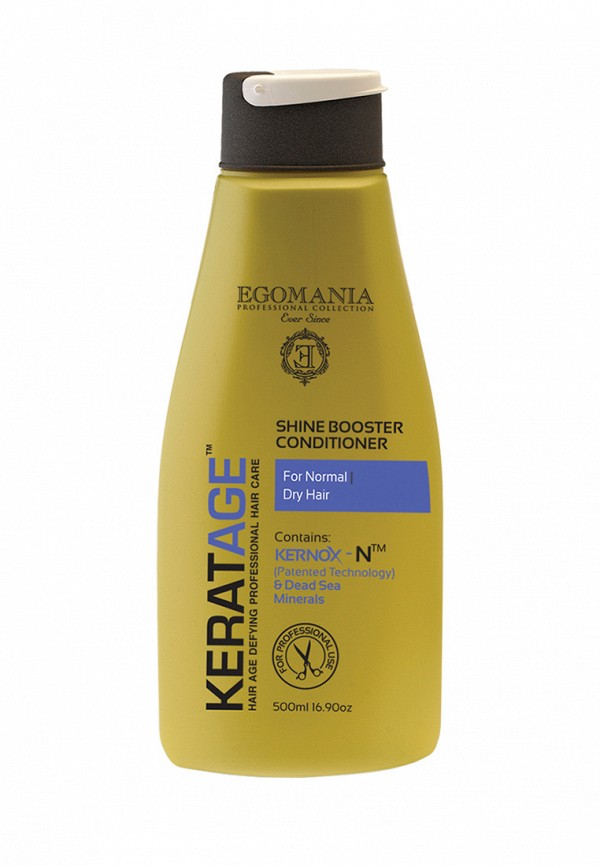 Кондиционер Egomania Prof Keratage - Экстраблеск для нормальных и сухих волос