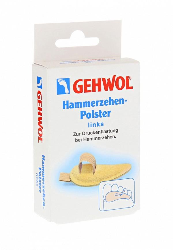 Подушечка под пальцы ног малая, левая Gehwol Gehwol MP002XU0084S сопутствующие товары gehwol hammerzehen polster links 0 1 шт левая