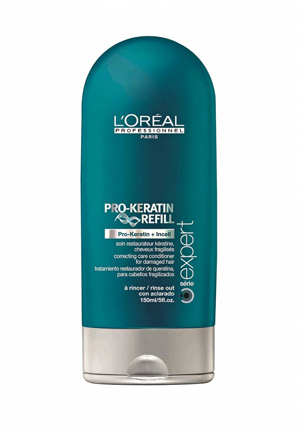 Смываемый восстанавливающий и укрепляющий уход L'Oreal Professional Expert Pro-Keratin Refill - Восстанавливающий уход для волос с кератином