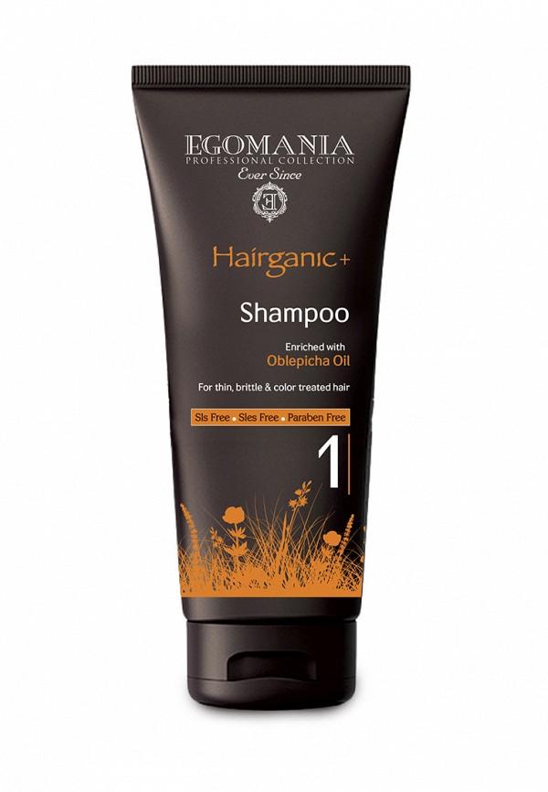 Шампунь для окрашенных волос Egomania Prof Hairganic+ - Для тонких, ломких волос